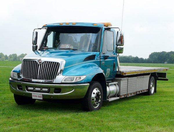 International 4300 JB Trucking, Belgium
