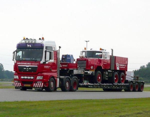 Mack DM600 Wagenborg Nedlift, The Netherlands