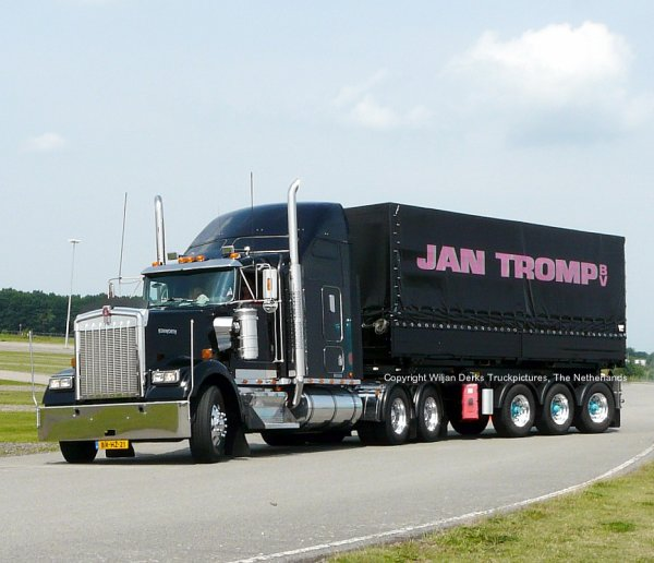 Kenworth W900 Tromp Eindhoven, The Netherlands