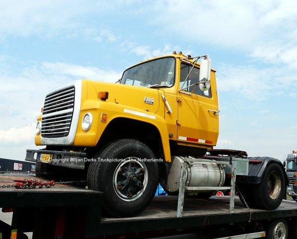 Ford L8000 De Wit, Callantsoog, The Netherlands