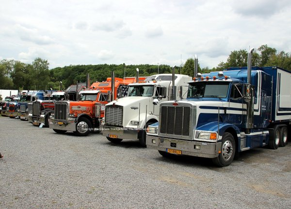 US Heavy Duty Trucks in Barvaux 2015