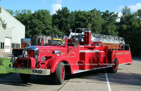 Mack Firetruck Snippers Enschede, The Netherlands
