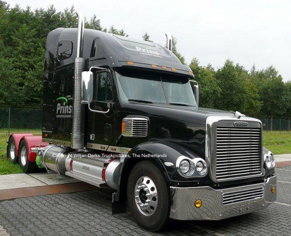 Freightliner Coronado on Diesel, LPG, CNG and LNG! Prins, Eindhoven