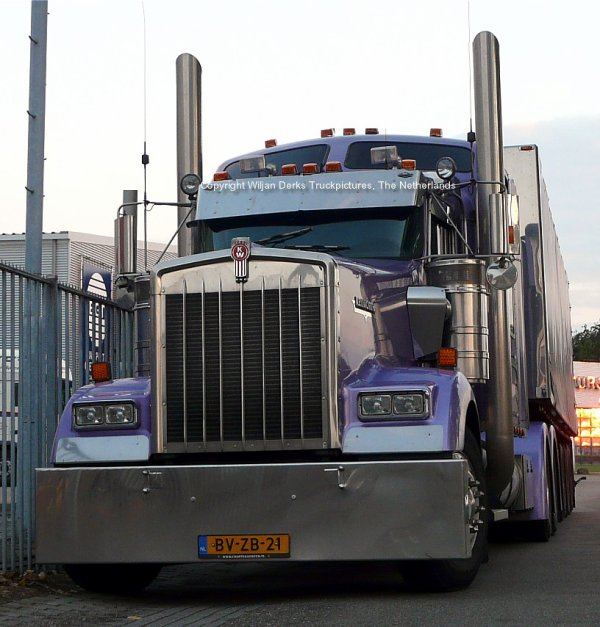 Kenworth W900 Ravenhorst, The Netherlands