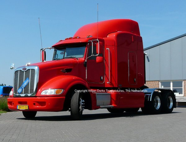 Peterbilt 386 De Crom, Veldhoven, The Netherlands