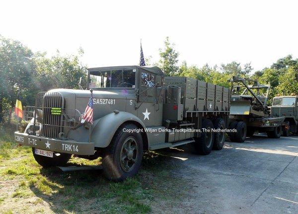 Mack NR Ex Army, Belgium