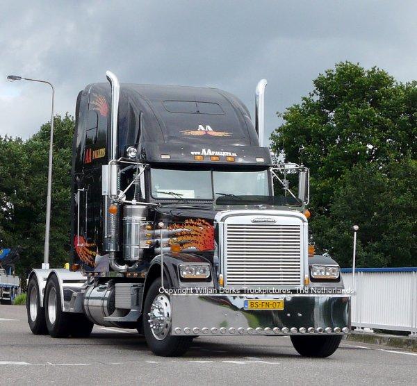 Freightliner Classic Van der Aa, Beringe, The Netherlands