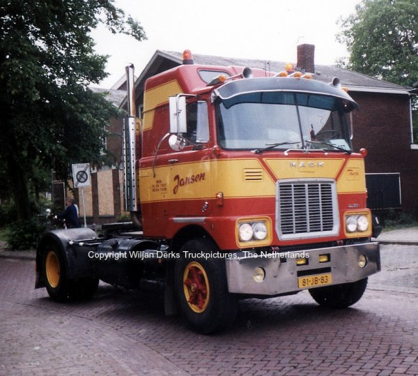 Mack F700 Jansen Breda, The Netherlands