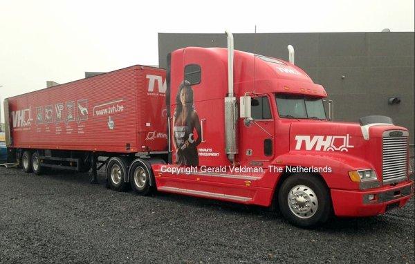 Freightliner FLD120 TVH, Waregem, Belgium