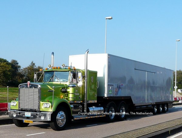 Kenworth W900 Herms, Epe, The Netherlands