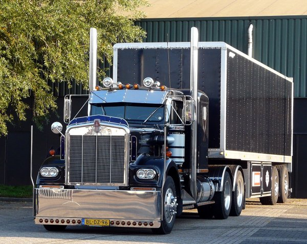 Kenworth W900A Jan de Wit, Callantsoog, The Netherlands at Mackday 2015
