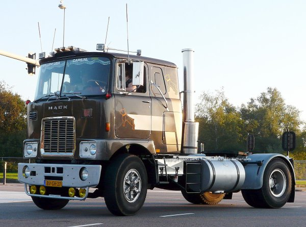 Mack F700 Rauw, Zeist, The Netherlands at Mackday 2015