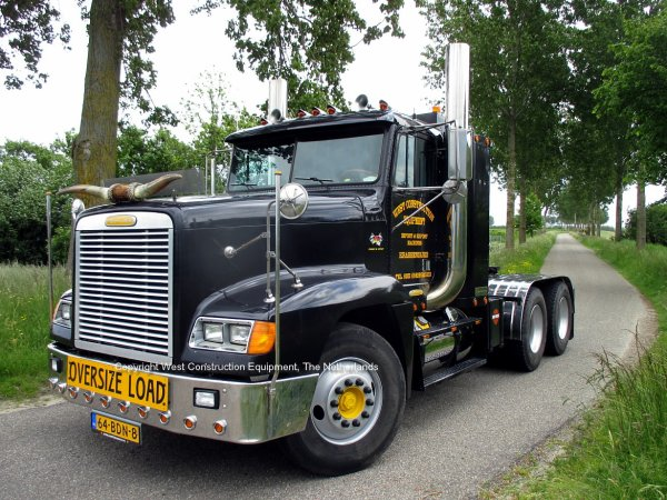For Sale: Freightliner FLD120 West Construction Equipment, Krabbendijke, The Netherlands
