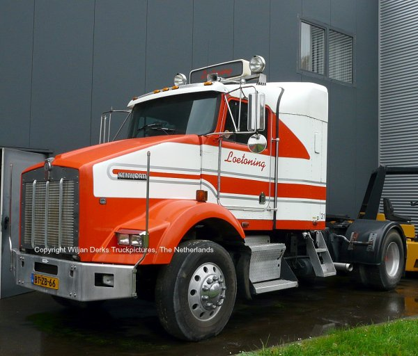 Kenworth T800 Loetoning, Stein, The Netherlands