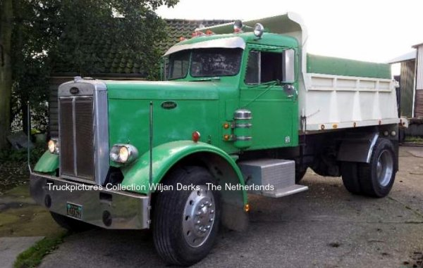 Peterbilt 281 Hoogwoud, The Netherlands