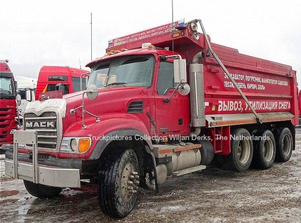 Mack CV713 Truckstok, Moscow, Russia