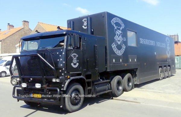 Freightliner COE No Surrender, The Netherlands