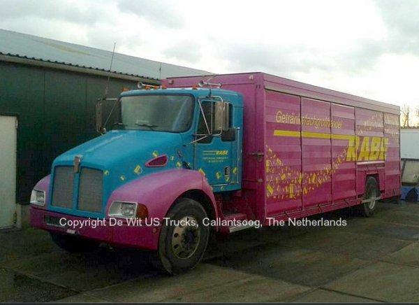 Kenworth T300 De Wit, Callantsoog, The Netherlands