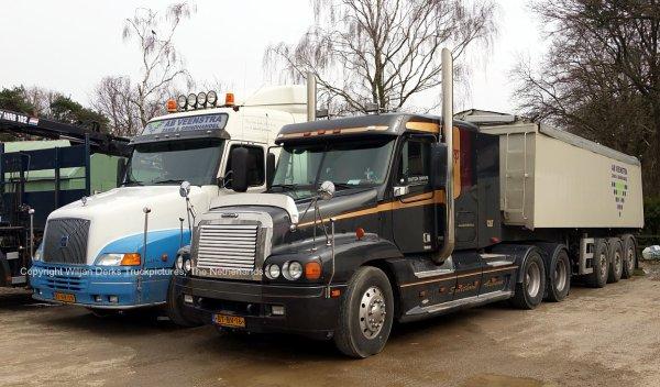 Freightliner Century Class, Veenstra, Asten, The Netherlands