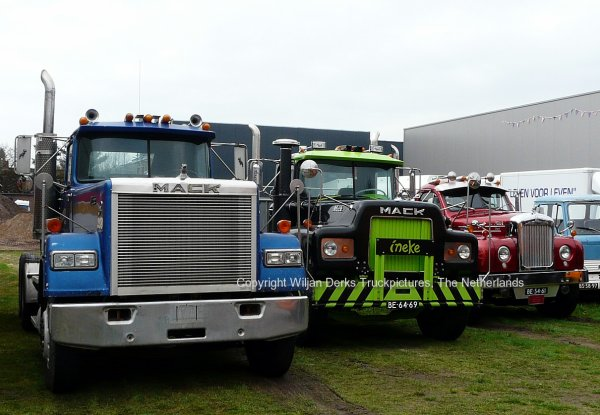 Mack Trucks at Milheeze Truckfest, The Netherlands