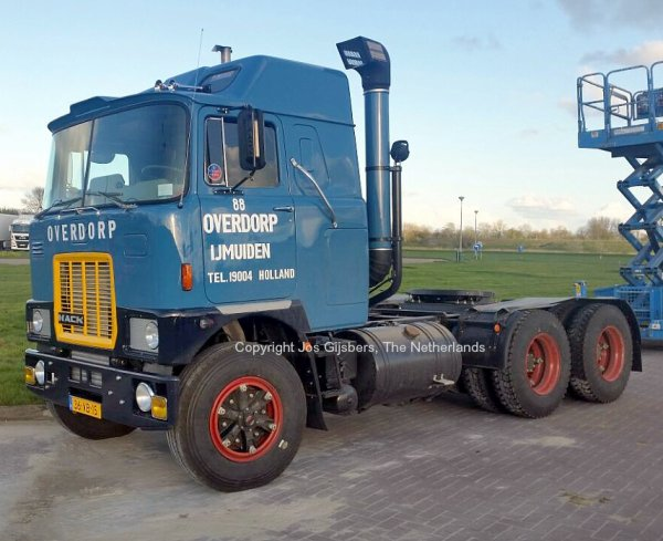Mack F786ST Schrooder, Den Helder, The Netherlands