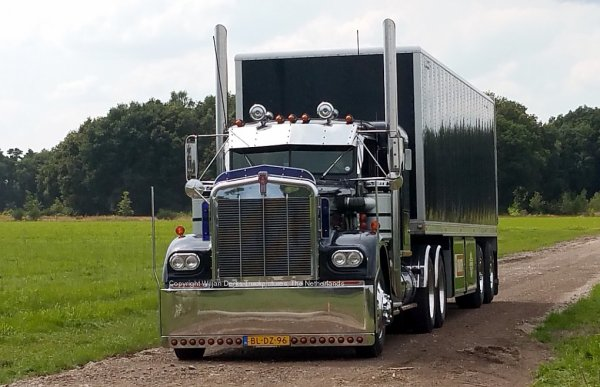 Kenworth W900A Jan de Wit, Callantsoog, The Netherlands