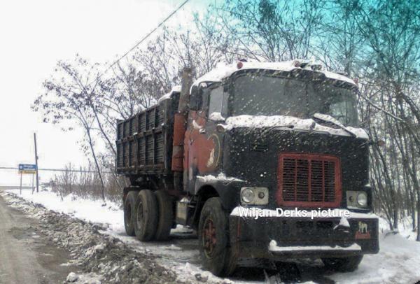 Mack f700 former Yugoslavia