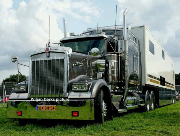 Kenworth W900 Seuntjens, The Netherlands