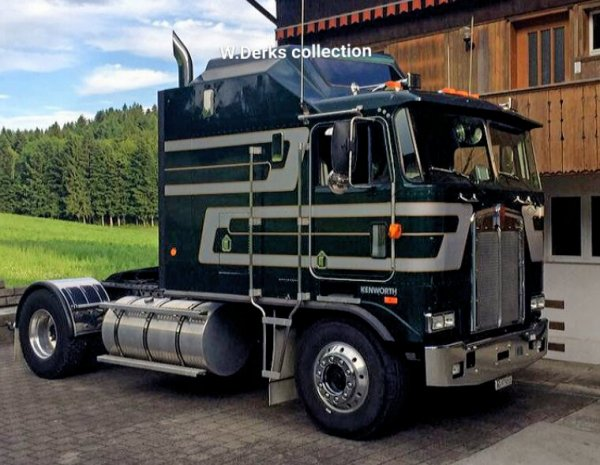 Kenworth K100 Aerodyne Zofingen, Switzerland