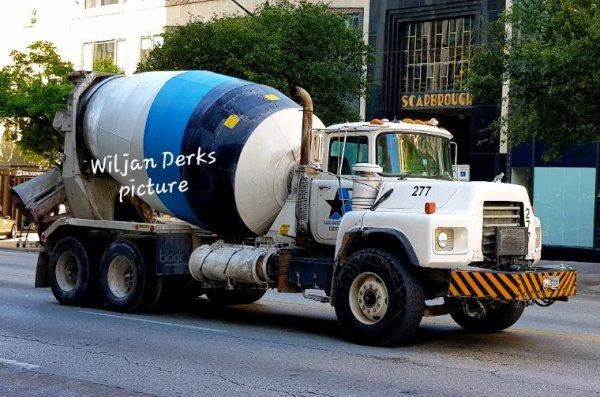 Mack DM600 Alamo Concrete nr 277 Austin Texas USA