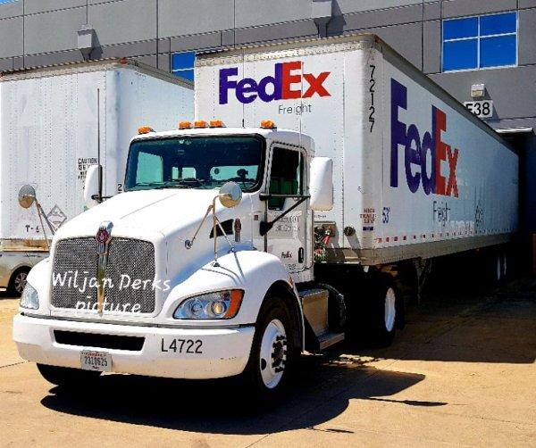 Kenworth T370 Fedex,  Austin Texas USA