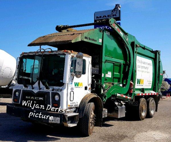 Mack TerraPro Waste Management,  Austin,  Texas,  USA