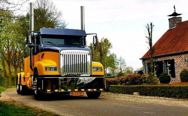 Freightliner FLD, The Netherlands