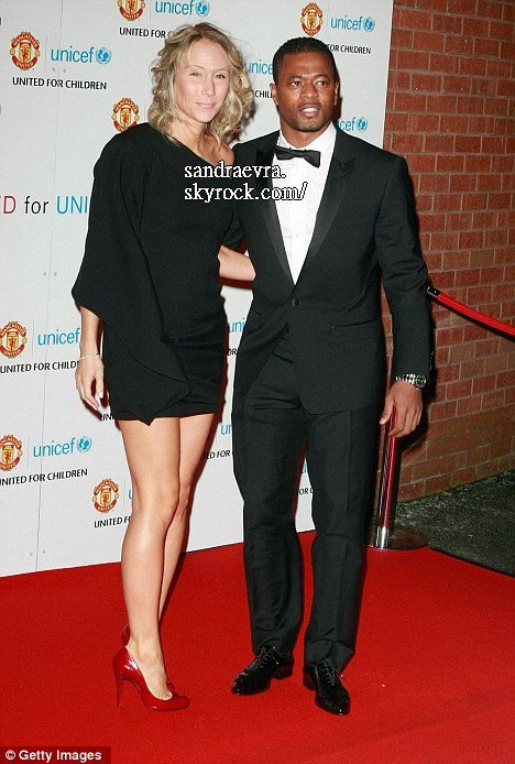 Manchester United stars and WAGs dig deep at UNICEF charity dinner