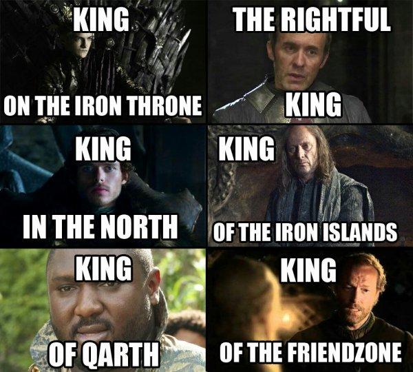 Pour comprendre il faut connaitre Game of Thrones