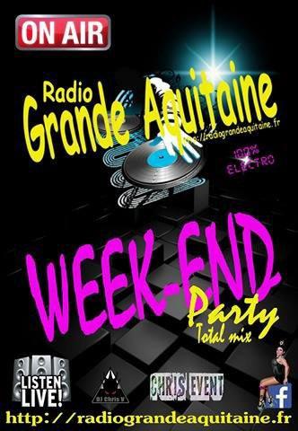 Bienvenue sur votre radio en mode Week-end, pour le plaisir de vos oreilles... Du son Electro, aujourd'hui encore, avant un changement radical qui sera effectif tout au long de la semaine....  Restez à l écoute, il va y en avoir pour tout le monde! Bienvenue sur Radio Grande Aquitaine! ➡ http://radiograndeaquitaine.fr