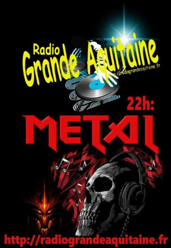Ce soir, sur Radio Grande Aquitaine, c est une soirée spéciale!  Ambiance Métal, hard, et guitare!!!!!! Pas de mixe, pas de live, mais du bon vieux son Rock Metal qui déchire! Profitez en, c est exceptionnel, et c est pour vous! L heure est également exceptionnel ce soir, RDV à 22h, pour tout les amoureux de gratte!!!!!!  Bonne écoute, et.... bonne soirée ? ➡ http://radiograndeaquitaine.fr radiograndeaquitaine.fr radiograndeaquitaine.fr