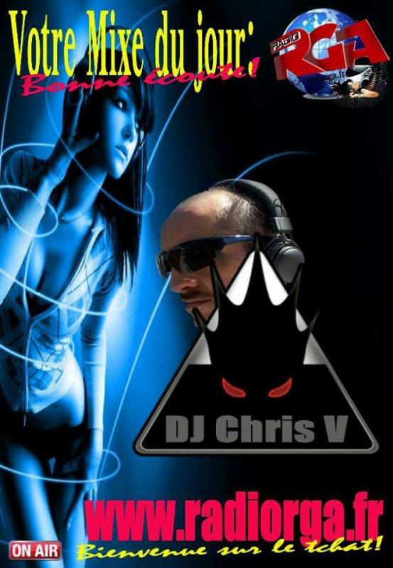 Dés 17h, Dj Chris V, mixe electro Remix, bonne journée sur RGA, et bonne ecoute ? ➡ www.radiorga.fr