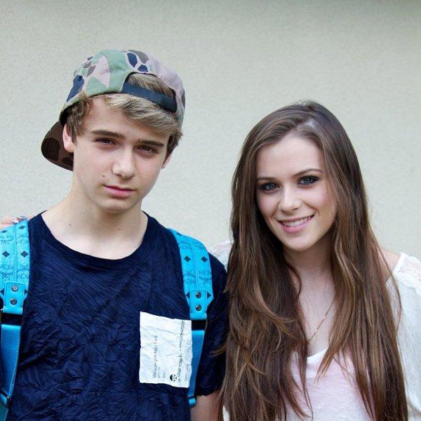 ** Christian a posté une photo de lui et sa soeur sur twitter, photo coup de ♥ **