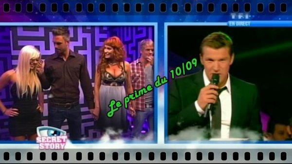 L Prime du 10/09 Maxime quitte l'aventure!