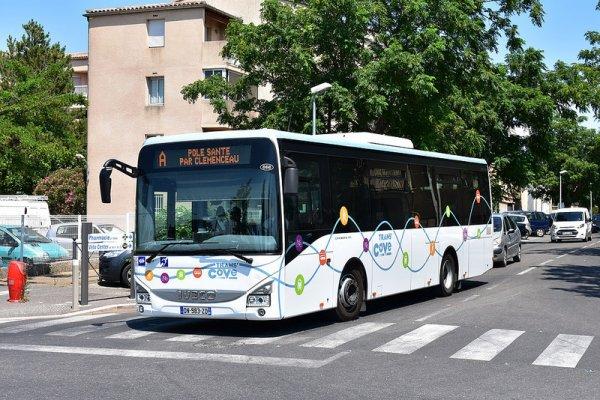 Bus de ville de carpentras