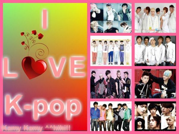 Pour tout(e)s les fans de K-pop ^^hihi!!