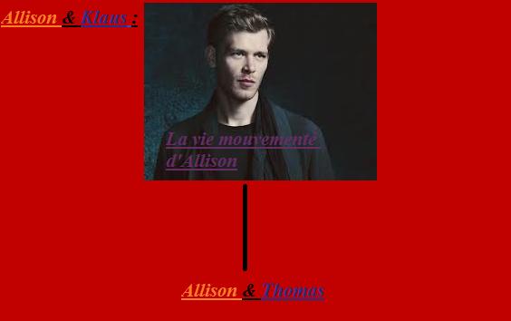 """Mon 1er O.S. : """" La vie mouvementé d'Allison """""""