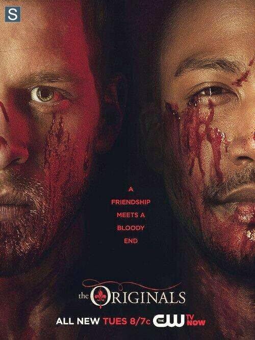 """The Originals Saison 1 nouveau poster de Klaus et Hayley """"Protéger l'héritier à naître"""" et de Marcel et Klaus"""