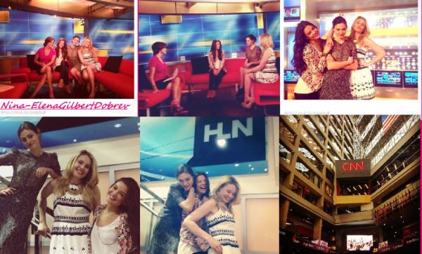 The Originals Gilrs pour CNN Altanta le 9.05.14