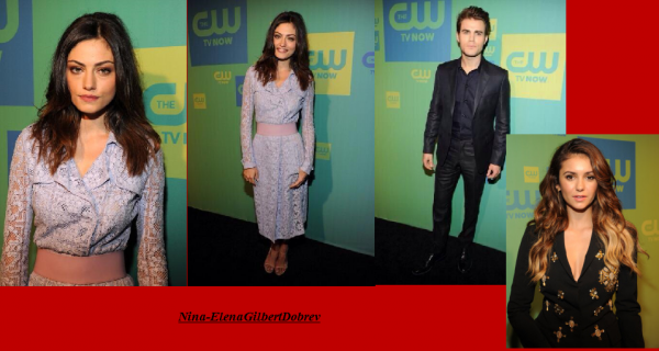 Le cast de The Vampire Diaries et The Originals au CW upfronts le 15.05.14 à New-York !
