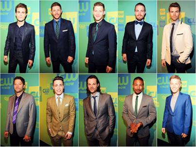 Voici une photo montrant tous les acteurs présent au CW UpFronts le 15.05.2014 à New York !