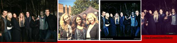 Candice Accola publie des photos du tournage final Saison 5!