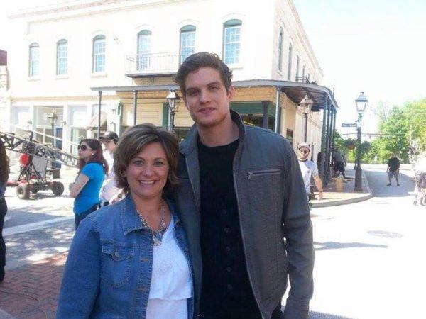 Daniel Sharman (Isaac) sur le tournage de la saison 2 de The Originals !