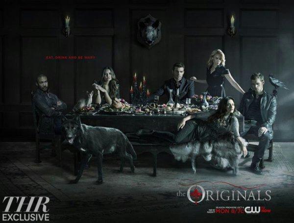 """Voici un nouveau poster de la saison 2 The Originals """"manger, boire et se méfier"""""""